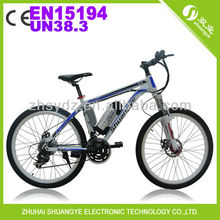 new 26 inch sport lithium battery electric bicycle