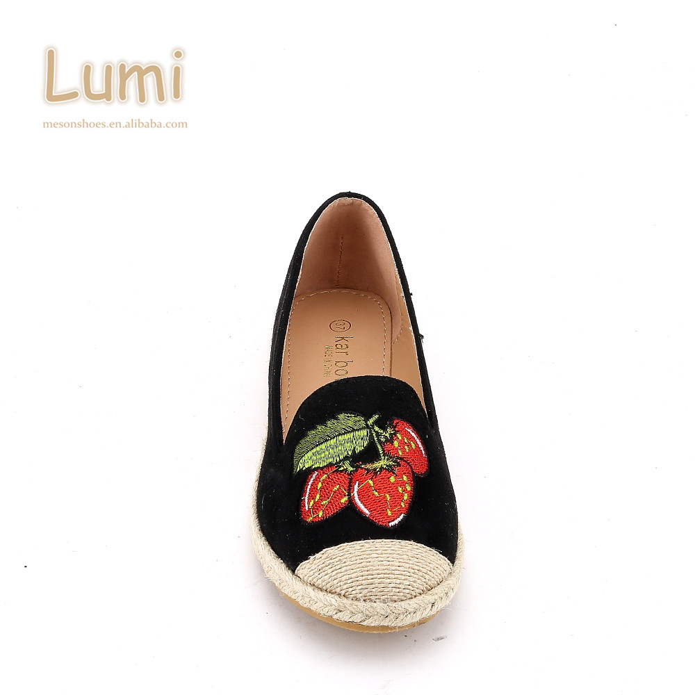 a106cf3178bc6 Best Sellers Breathable Ladies Espadrilles Jute Women Loafer Flat Shoes