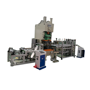 High quality aluminium foil container making machine in China
