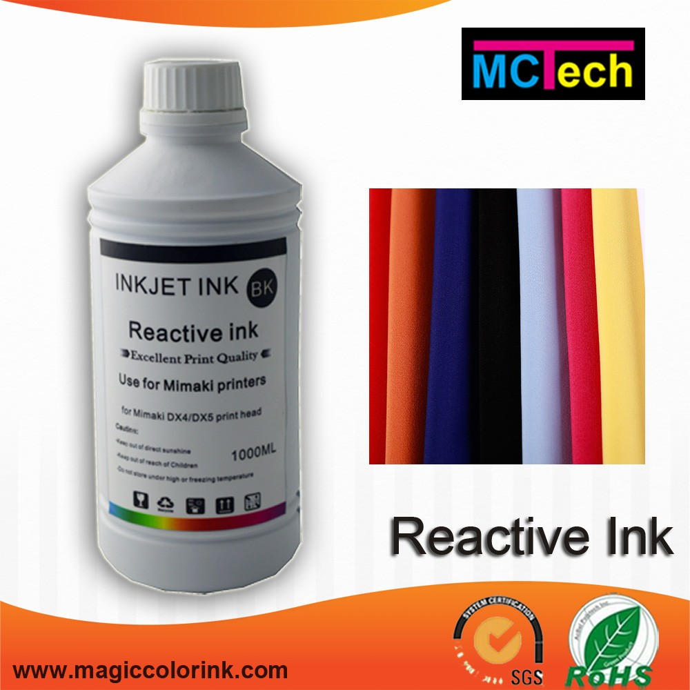 China factory supply Reactive dye ink for digital textile printing for wool printing