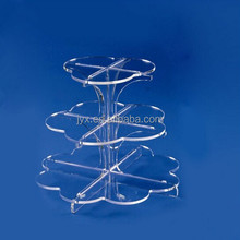 3 Layers Detachable Strong Wedding Birthday Party Round Cake Display Racks