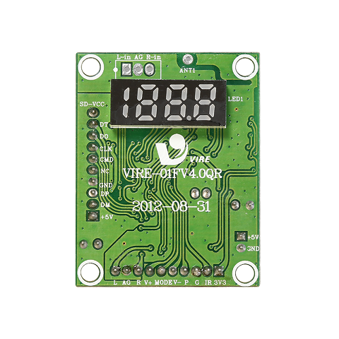 Customized 5v usb/sd/fm printed circuit board mp3 player