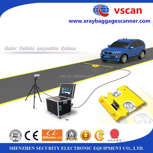 Plate number capture Undercarriage Scanning System for embassy, airport