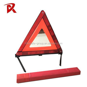 PMAA Car emergency reflective safety triangle warning sign