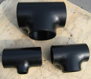 gi pipe fitting Carbon steel tee Equal tee (EQ Straight tee Reducing