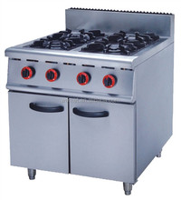 Restaurant Equipment Gas Stove / Free Standing Gas Cooker