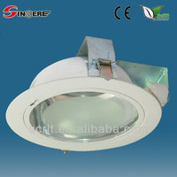 SD108 CFL LED Downlights recessed glass