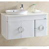 Foshan YA MEI TE fresh white stainless steel modern bathroom vanity set 092