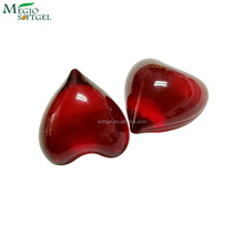 Red rose fragrance body care oil beads
