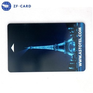 holographic film plastic card printing/hot foil stamping plastic rfid card for hotel management