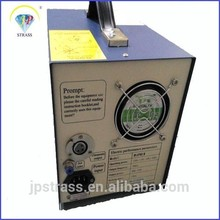 Newly low price ultrasonic hot fix rhinestone machine automatic making transfer motif,for cotton, lesther or other materials