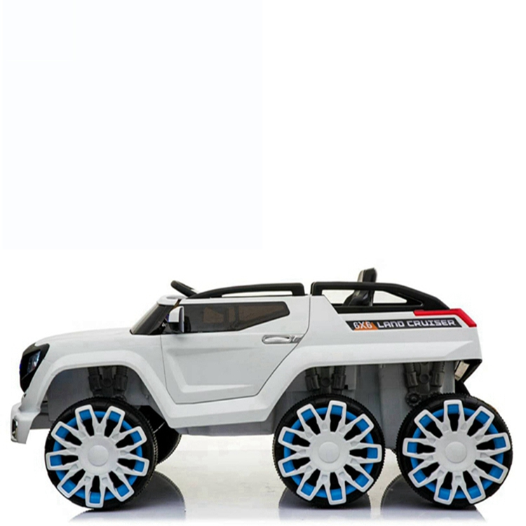 ample power six wheels big cross-country kids ride on cars baby electric toys