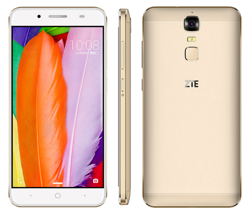 "ZTE Blade A2 Plus 5,5 ""FHD 1920x1080 Octa-core 5000 mAh Reverse-Charge 4G RAM 32G ROM Android 6.0 Metallgehäuse FingerPrint"