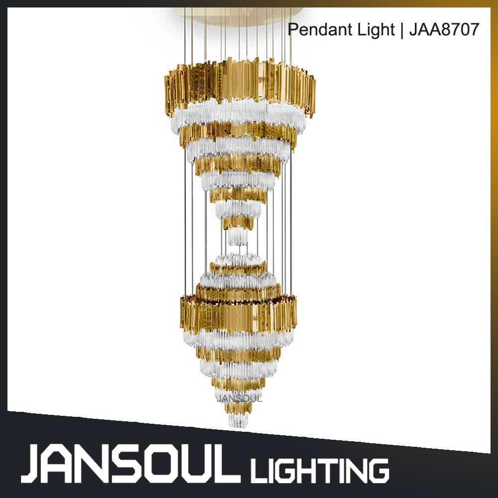 2017 best italian latest new modern large design chandelier for large stair case