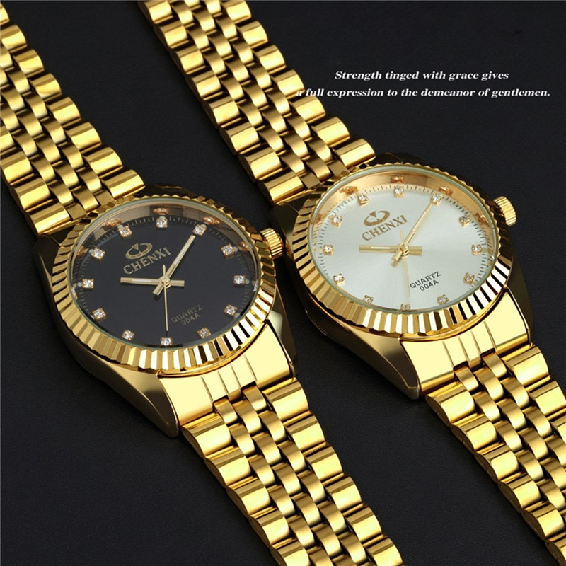 Oem Cheap Quartz Gold Watch With Stainless Steel Skeleton ...
