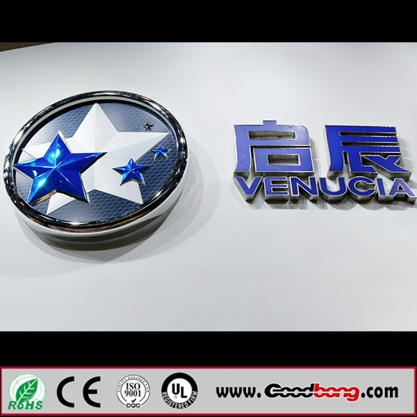 Led Car Logo Signs,Customized Vacuum Forming Car Logo With Their ...
