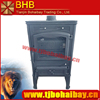 BHB wood fuel burning new style 14 kw cast iron stove