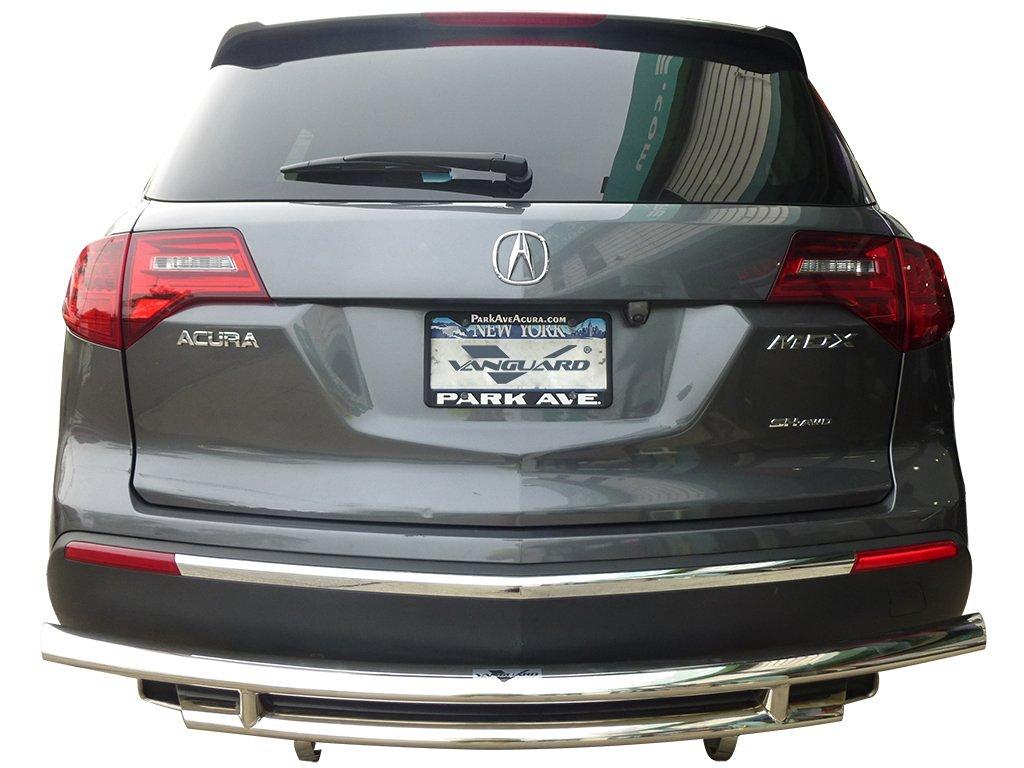 VANGUARD 2007-2009 Acura MDX Rear Bumper Guard Double Layer S/S