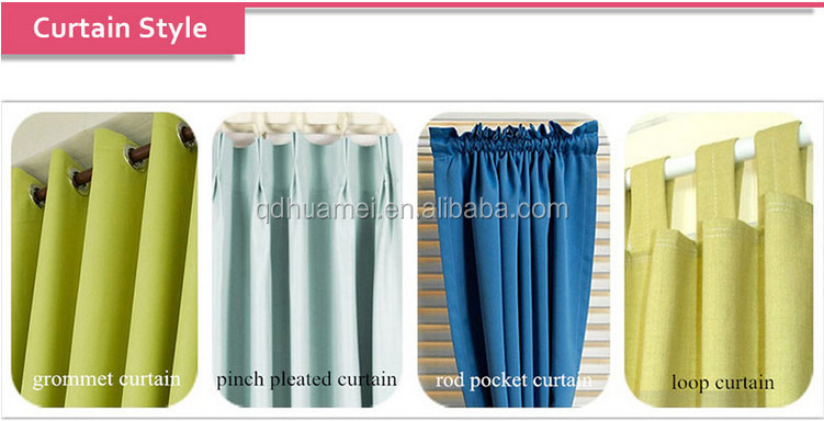 Types Of Curtain Fabrics For Window Curtain Stand - Buy Types Of ...
