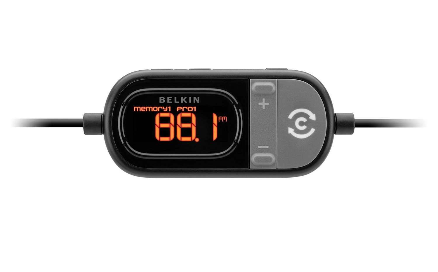 Belkin F8Z498 Tunecast Auto Live FM Transmitter and Charger for iPod/iPhone