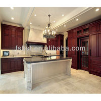 Kitchen cabinets design ideas with chocolate color cabinet door
