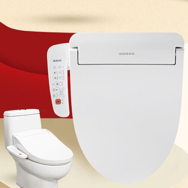 IKAHE self-cleaning toilet seat cover electric bidet toilet
