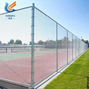 easily assembled wire mesh fence tennis court fence