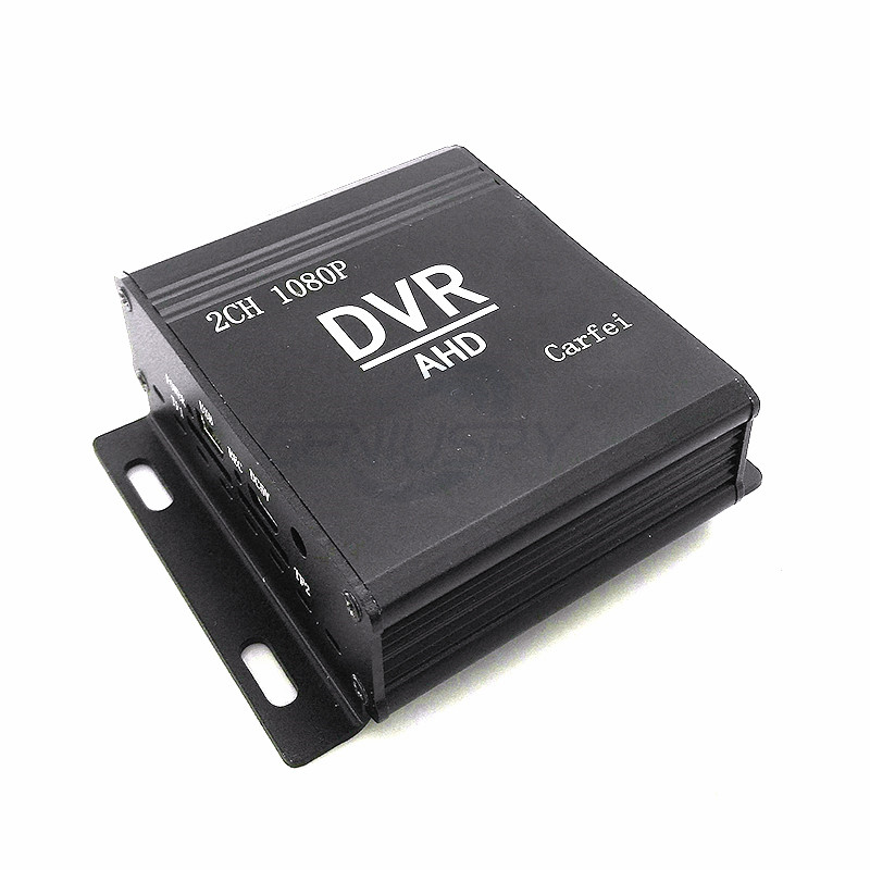 2Channel Mini CCTV Video Recorder AHD <strong>DVR</strong> Support 1080P AHD Cameras For Cctv Car Security System