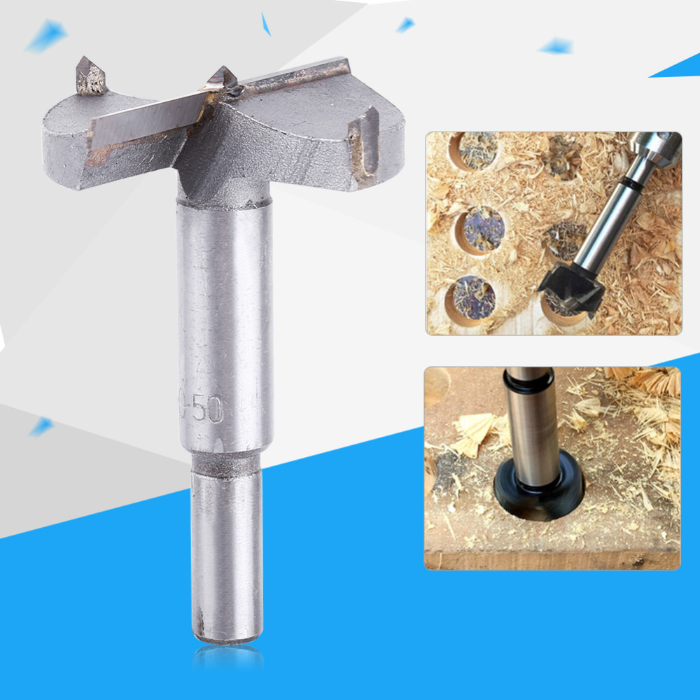 SAXN High Quality Drill Bits Professional For stner TCT Wood Hole Saw 15-100mm