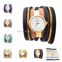 2016 hot selling fabric wrist woman hand watch for girl women watches