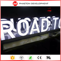 3D led advertising sign out of store