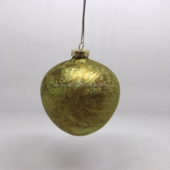 unusual glass christmas ornaments