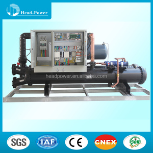 200 ton 80 tons water cooled screw-type air-conditioning chillers