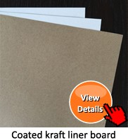 mill stocklot grade AAA/140gsm-220gsm coated kraft liner paper