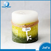 100% cotton wick Cylindrical wax candle Home deco scented pillar wax candle