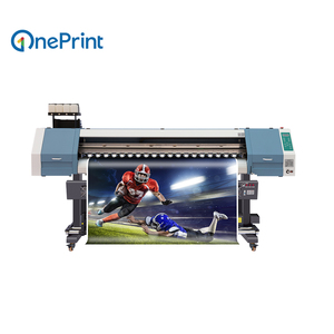 1.8 Meters Large Format Printer For Outdoor & Indoor Advertising (Eco Solvent Ink)---OnePrint SJ-1801