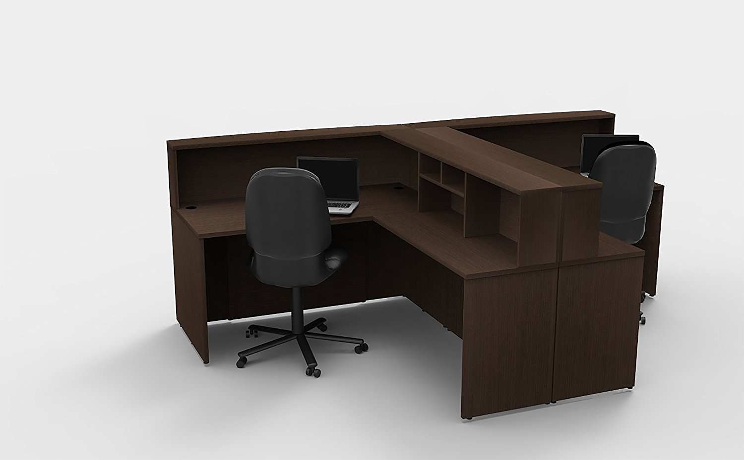 group contemporary office get quotations office reception desk corner collaboration furniture model 4304 pc group contemporary espresso color cheap chic desk find deals on line at