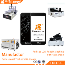 Full Set CE Certificate Quality Mobile Phone LCD Repairing Machine Touch Screen Repair Equipment Refurbished Iphone
