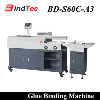 BD-S60C-A3 Automatic Glue Binder Book Perfect Binding Machine