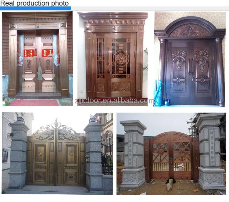 Jk-c9032 Jiekai Indian Main Door Designs / Safety Iron Main Door ...