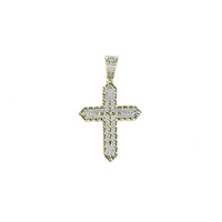with Necklace 925 Sterling Silver Charm Cross Pendant