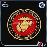 Double color plating imitation enamel U.S. military challenge COINS