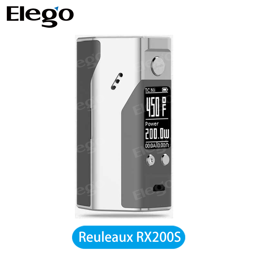 2016 New Coming! Original Wismec Reuleaux RX200S TC Mod , Wismec RX200S , New Wismec 200S TC BOX MOD for Wholesale