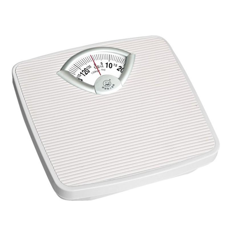 Steel Platform Health Mechanical Bathroom Weighing Scale Product On