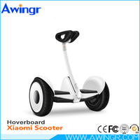 Factory price newest 10 inch two wheel RC LED light xiaomi electric scooter