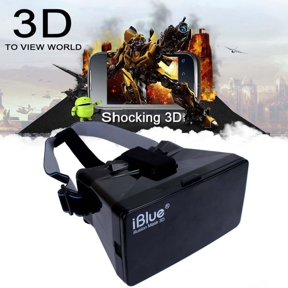 "Sun YOBA Plastic Virtual Reality 3D Video Glasses for 3.5-5.6"" Phone Google Cardboard"