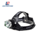 10W Rechargeable moving best head torch led waterproof headlamp