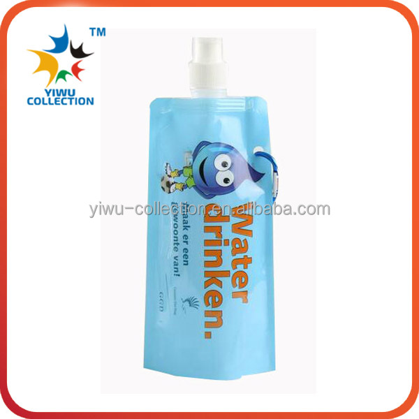 ECO-Friendly Customized PVC plastic Foldable Water Bottle