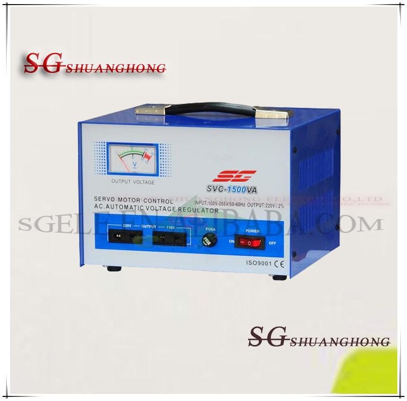 500VA1000VA10KVA high precision Automatic Voltage Stabilizer SVC