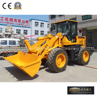 3 ton wheel loader front tractor